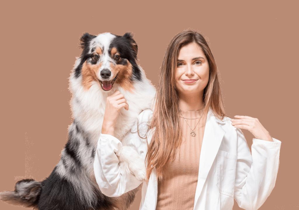De dierendokter van BuddyBites volgt jouw hond persoonlijk op.